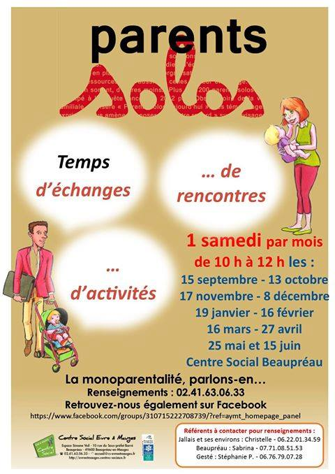 rencontres parents solo