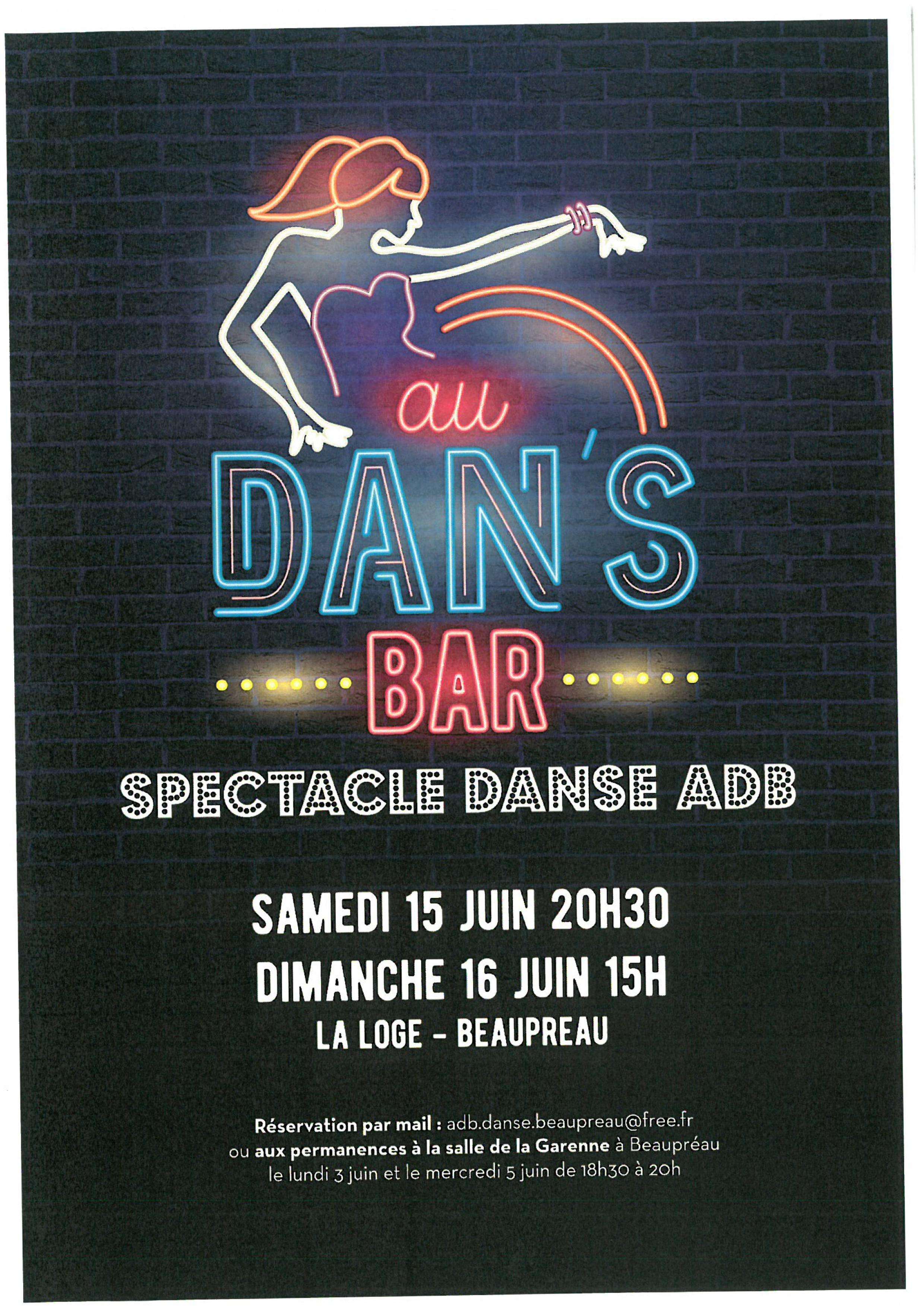 SPECTACLE DANSE ADB