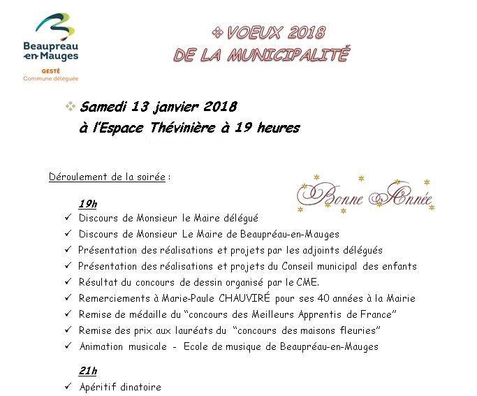 Beaupr au en mauges voeux de la municipalit for Piscine aqua mauges